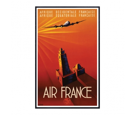 Air France - Afrique made by Vintage Posters From Around The World.