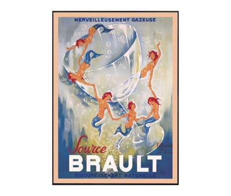 Source Brault, 1938  made by Vintage Posters From Around The World.