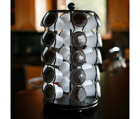 Miramar Rotating Coffee Pod Storage made by Mesa Home.