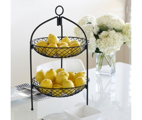 2-Tier Sunflower Basket made by Mesa Home.