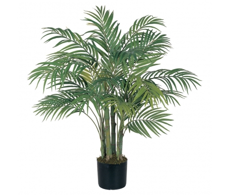 3' Areca Silk Palm Tree made by Summertime Florals .