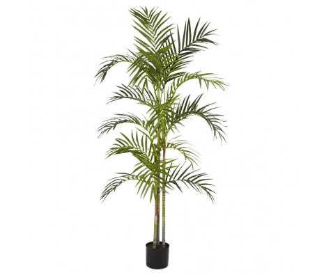 5' Areca Silk Palm Tree made by Summertime Florals .