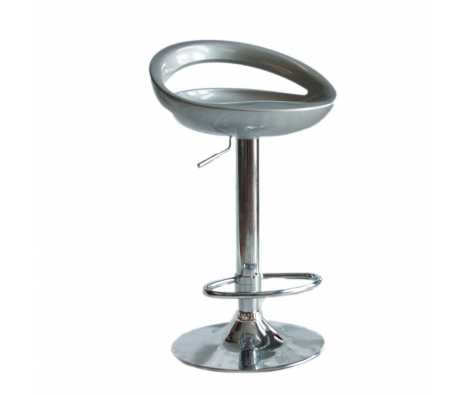 Derince Adjustable Stool, Silver made by Poufs, Ottomans, and More.