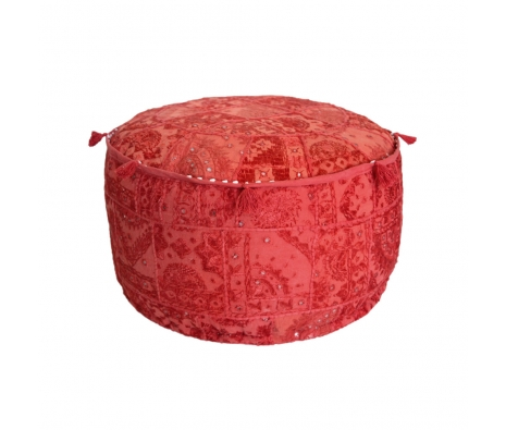 Ankara Pouf, Red made by Poufs, Ottomans, and More.