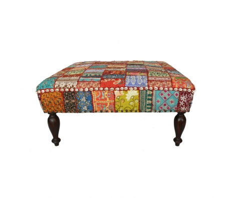 Urfa One of a Kind Ottoman made by Poufs, Ottomans, and More.