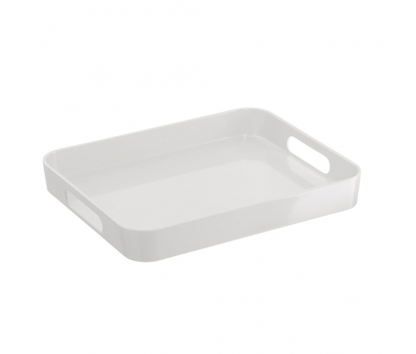 "12"" Serving Tray, White made by Drinks On The Go ."