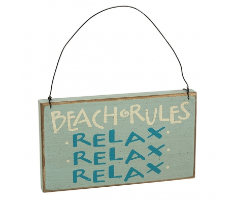 Beach Rules Sign made by Beach Waves.