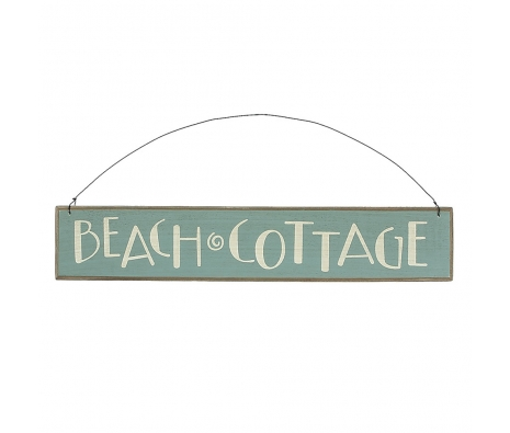 Beach Cottage Sign made by Beach Waves.