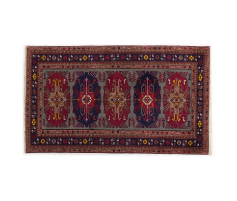 "Turkish Kazak, 4' 4"" x 7' 4"" made by Persian Rug Bazaar ."