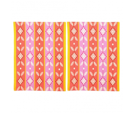 Layla Kitchen Towel, Set of 2 made by The Couture Chef.