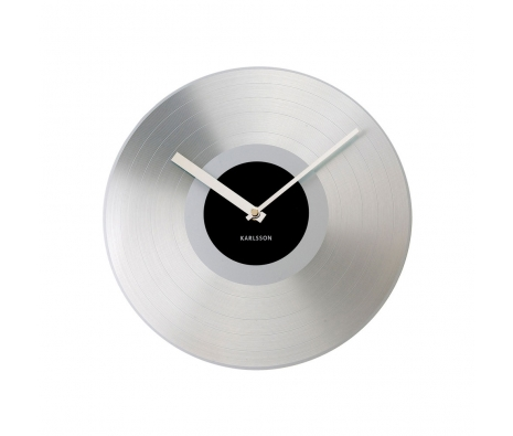 Recordings Clock, Silver made by Present Time .