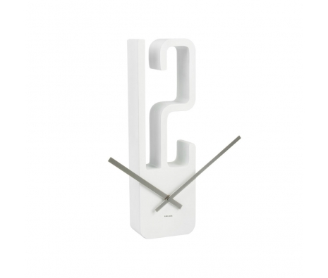 High Noon Clock, White made by Modern Wall Clocks .
