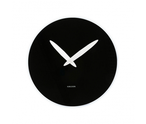 Devey Bold Clock, Black made by Present Time .