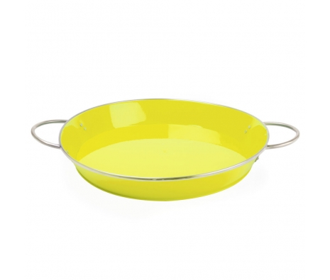 Yellow Retro Serving Tray made by Summertime Entertaining .