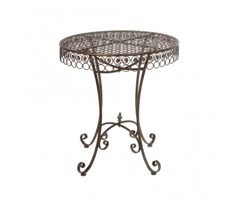 Aurillac Iron Bistro Table made by Alfresco Bistro.