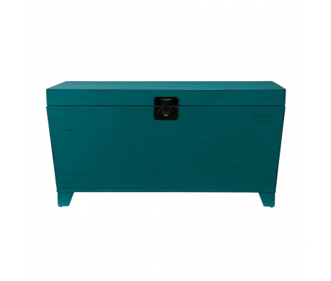 Acalan Trunk, Turquoise made by Modern Living.
