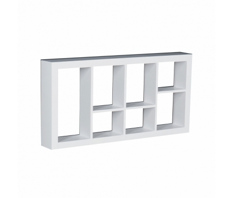 Vidalia Display Shelf, White made by Modern Living .