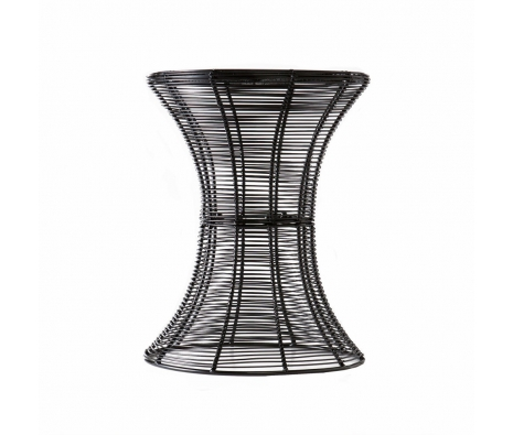 Pembrook Metal Accent Table, Black made by SEI.