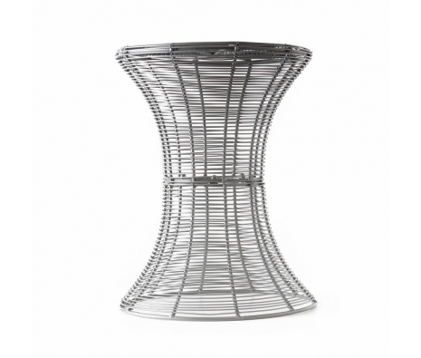 Pembrook Metal Accent Table, Silver made by SEI.