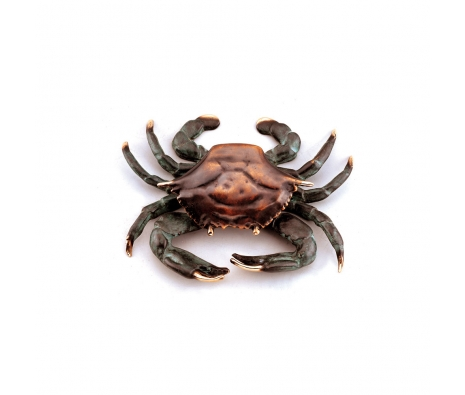 Westerly Crab Doorknocker made by Seaside Accents by Spi-Home .
