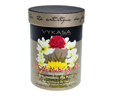 Vykasa Flowering Teas made by Toast the Host.