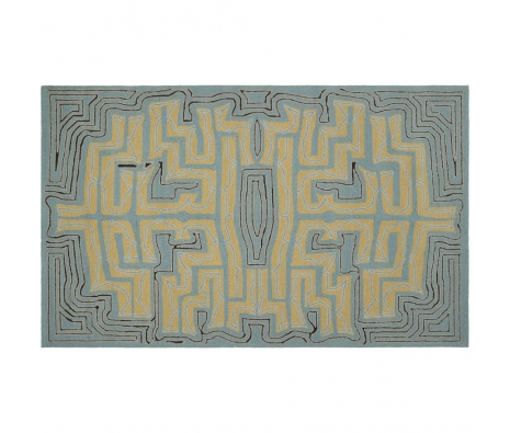 3' x 5' Labyrinth Rug, Moss made by Summertime Decor .