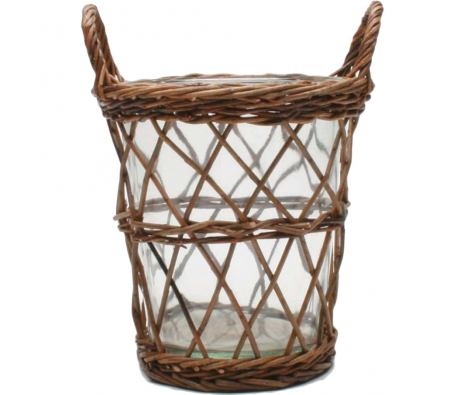 Hand-woven Wine Cooler made by Garden Party Hostess.
