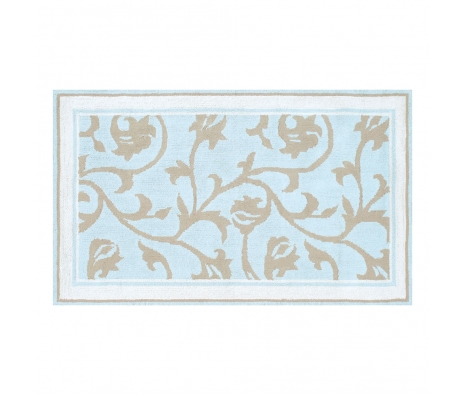 2.8' x 4.8' Londonderry Rug, Blue made by Bright & Bold Rugs.