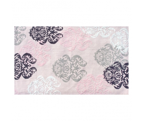 2.8' x 4.8' Grantham Rug, Pink  made by Bright & Bold Rugs.