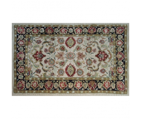 5' x 8' Darwin Rug, Ivory/Black/Red made by Rugs Under $500.