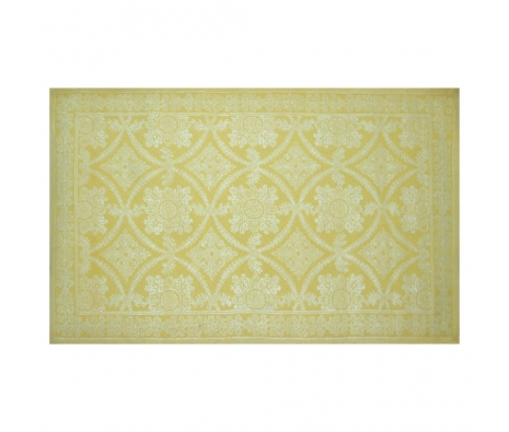 5' x 8' Nottingham Rug, Yellow  made by Bright & Bold Rugs.