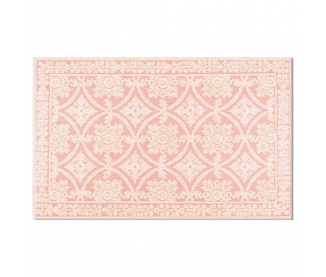 5' x 8' Nottingham Rug, Rose  made by Bright & Bold Rugs.