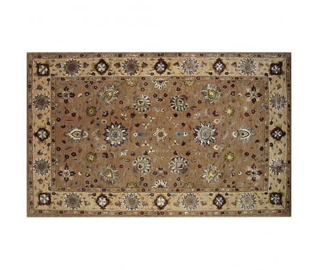 5' x 8' Pennock Rug, Brown/Beige made by Rugs Under $500.