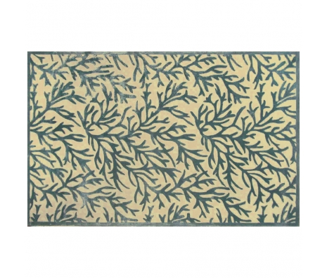 4' x 6' Ramsey Rug, Blue/Tan made by Rugs Under $500.