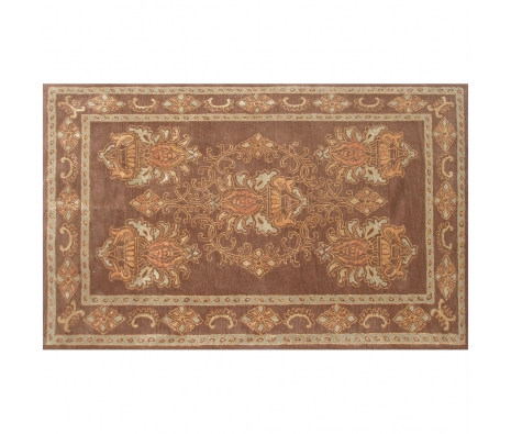 5' x 8' Jenkins Rug, Brown/Blue made by Rugs Under $500.