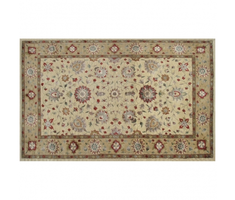 5' x 8' Northrop Rug, Camel/Cream/Red made by Rugs Under $500.
