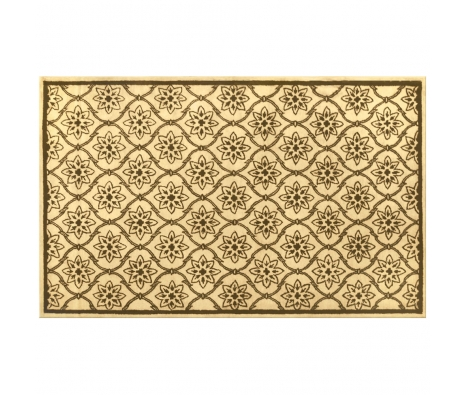 5' x 8' Madelia Rug, Ivory/Brown made by Rugs Under $500.