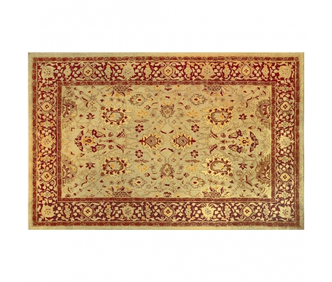 5' x 8' Ranier Rug, Burgundy/Cream made by Rugs Under $500.