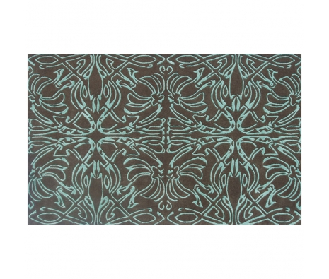 5' x 8' Jeffers Rug, Brown/Teal made by Rugs Under $500.