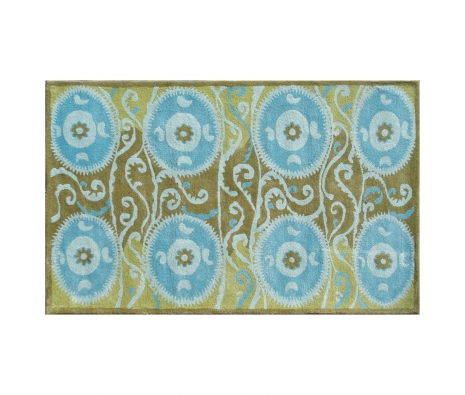 5' x 8' Roxbury Rug, Blue  made by Bright & Bold Rugs.
