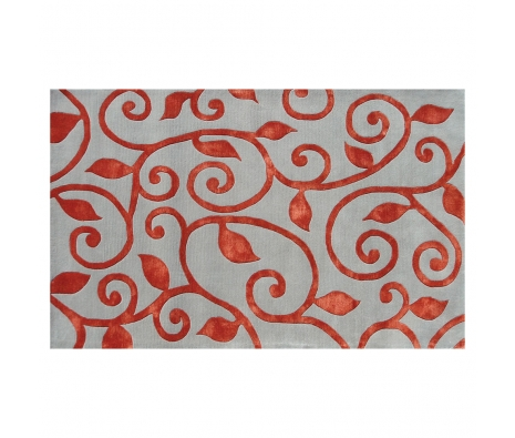 5' x 8' Conway Rug, Red made by Bright & Bold Rugs.