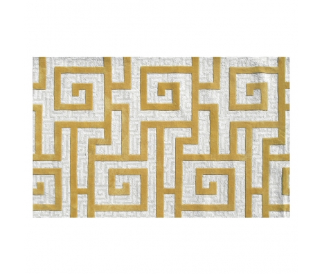 5' x 8' Benton Rug, Gold  made by Bright & Bold Rugs.