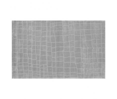 5' x 8' Hudson Rug, Grey  made by Bright & Bold Rugs.