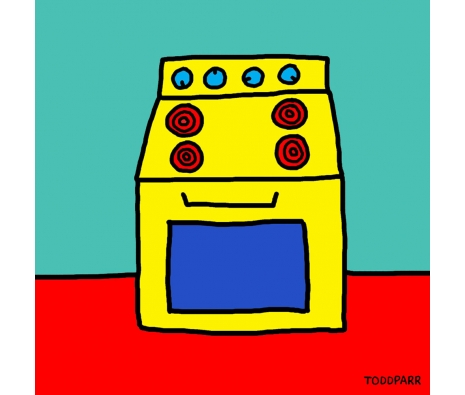 Stove made by Todd Parr Exclusive.
