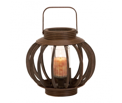 Cove Bamboo Lantern made by Countryside Finds.