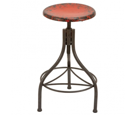 Benevento Bar Stool, Red made by American Tradition.