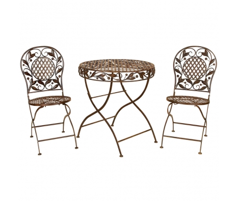 3 Piece Prescott Bistro Set made by Outdoor Living .