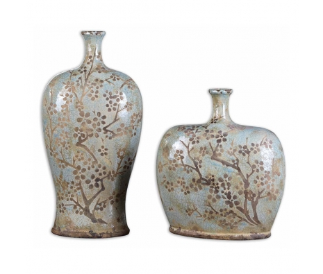 Citrita Bottles, Set of 2 made by Provencal Home Decor .