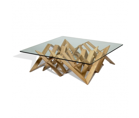 Futura Cocktail Table With Glass made by Vito Selma .