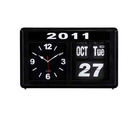 Retro Flip Clock, Black made by Warehouse Blowout .
